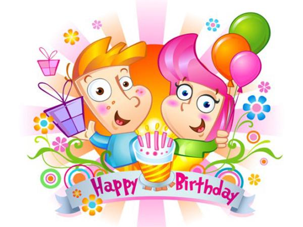 send et fødselsdagskort
