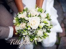 Bryllupskort, send kort til bryllupsdagen online